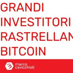 grandi investitori rastrellano bitcoin