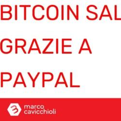 prezzo bitcoin sale PayPal