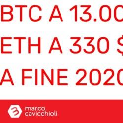 Bitcoin 13000 Ethereum 330