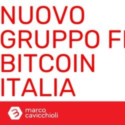 nuovo gruppo facebook Bitcoin Italia