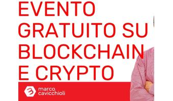 Evento gratuito blockchain e crypto