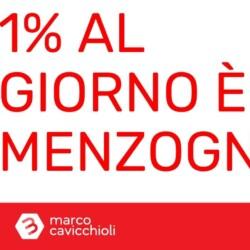 1% al giorno