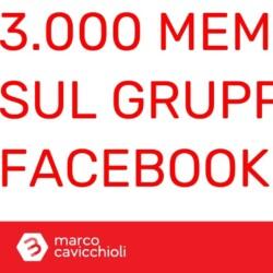 Tremila iscritti per il mio gruppo Facebook dedicato a Bitcoin e criptovalute