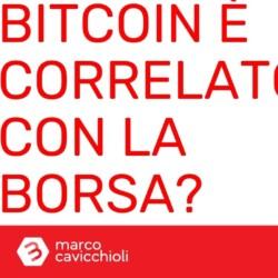 bitcoin correlato borsa