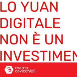 Yuan digitale cinese investimento