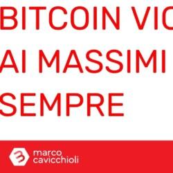 Prezzo bitcoin vicino ai massimi