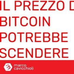 prezzo bitcoin potrebbe scendere