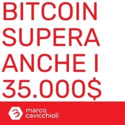 Bitcoin 35000 dollari