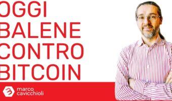 Bitcoin grandi investitori crollo prezzo