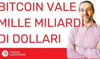 Bitcoin un trilione di dollari