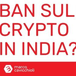 India ban criptovalute