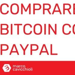Comprare bitcoin con PayPal su Coinbase
