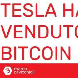 Tesla ha venduto bitcoin