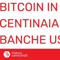 Bitcoin banche usa