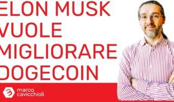 Elon Musk vuole migliorare Dogecoin