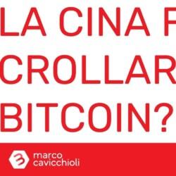 cina crollo bitcoin