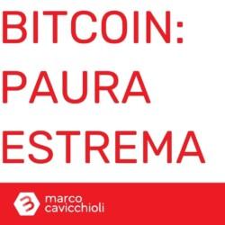 paura bitcoin criptovalute